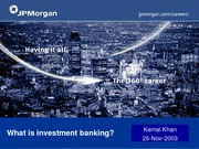 What+Is+Investment+Banking