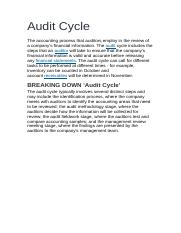 Audit Cycle.docx