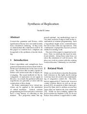 Synthesis of Replication.pdf