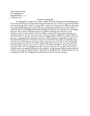 Marigolds essay