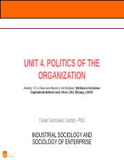 Unit 4 Power in organizations_alumnos