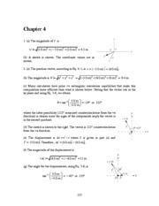 Halliday & Resnick 10th edition chapter 4 solutions