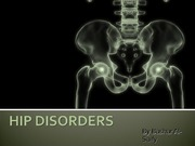 16 - Hip  Disorders - D3