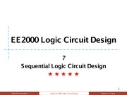 07 Sequential Logic Circuit Design
