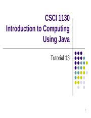 CSCI1130-Tutorial13_GUI(1).ppt