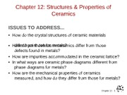 MATERIALS CHAPTER 12
