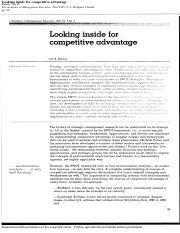 Looking inside for competitive advantage .pdf