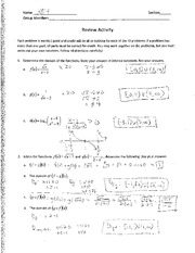 Math 106 In Class Assignment 4
