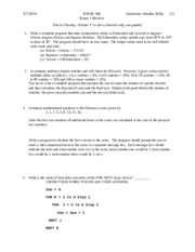 Exam 1 review S14 solutions