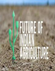 Agriculture 2050
