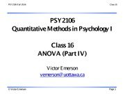 PSY2106 16 F14 (ANOVA part IV)