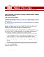 Indiana University Confirmation Certificate.docx