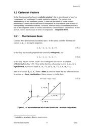 Vectors_Tensors_03_Cartesian_Vectors