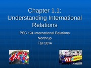 IR Chapter 1-1 Fall 2014 student