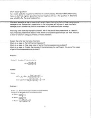 PARTIAL FRACTION EXPANSION STUDY GUIDE WITH ANSWERS