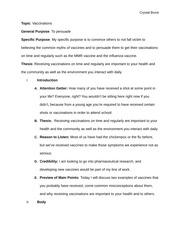 Persuasive speech thesis
