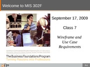 F09-Class-07-Wireframes and Use Cases