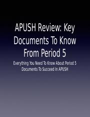Period-5-Documents-To-Know-PPT