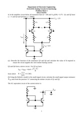 Problem Class 3 2013 Solutions