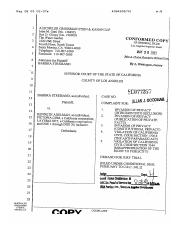 ca civil complaint