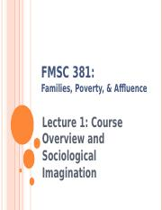 Lecture 1 Introduction & Sociological Imagination--Fall 2016.ppt