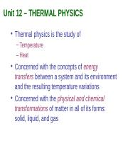 Notes12_Thermal