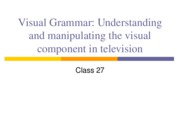 tv languate ppt