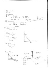 Optimization solver notes