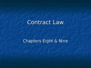 Contract Law.ppt