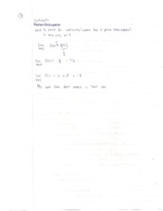 Math 1LS3 Oct 21- Limits and Continuity