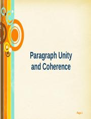 WritingParagraphs_UnityCoherence.pptx