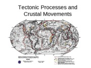 Tectonic Processes and Crustal Movements(3)