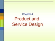ch 4 - product design