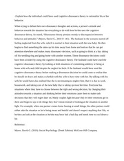 cognitive dissonance theory essay Jeff stone university of arizona the self-consistency revision of cognitive dissonance theory pre- sistency role of self-esteem in the process of cognitive dissonance arousal in experiment 1, after participants wrote a counter- attitudinal essay, priming personal self-standards caused more attitude change for those with.