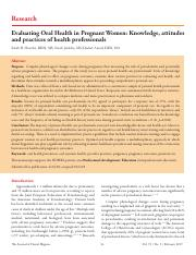 evaluating oral health in pregnant women.pdf