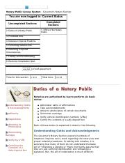 Duties of a Notary Public - Notary Education - Florida Department of State Sec 2