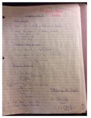 Physics 153 Chapter 20 Heat Engine Notes