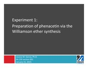 01 - williamson ether synthesis PP slides
