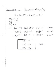 Chapter 1 - Sample Problems from Notes