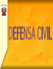 9.DEFENSA CIVIL