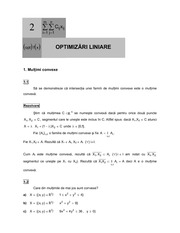 Linear optimization lecture note