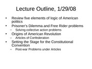 Lecture 03 - 29 Jan