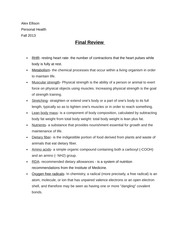 final review 3