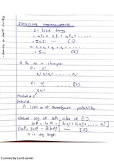 statistical Thermo-intro and Sterlings Approximations