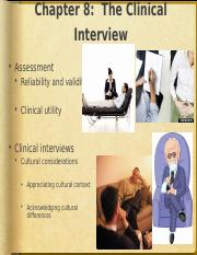 08 Clinical Interview.ppt