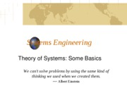 Theory of Systems (9-4-10)(3)