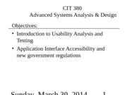 LEC 21 - Pres - Usability and Accessibility
