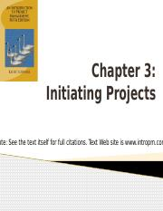 Chapter 3 - Initiating Projects.pptx