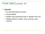 Pam 2000 Lecture 16