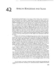 Ibn Battuta, African Kingdoms and Islam